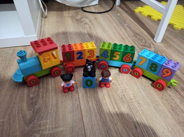 Поезд с цифрами Lego Duplo 10847