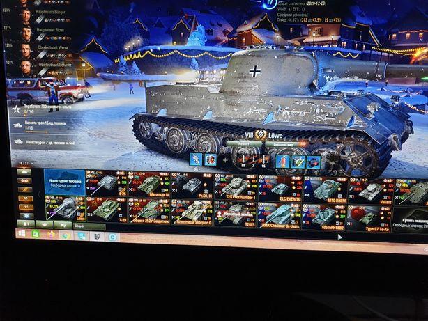 Аккаунт.Worlds of tanks. 12 премов.