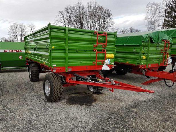 Przyczepa rolnicza komunalna PRONAR T653 4t