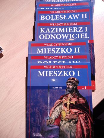 Władcy Polski kolekcja Hachette