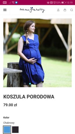 Koszula porodowa, poporodowa, do karmienia #mamaginekolog