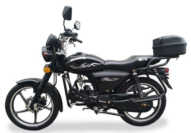 Мотоцикл MUSSTANG Alfa FIT MT125-8 в наличии, ARTMOTO-Днепр
