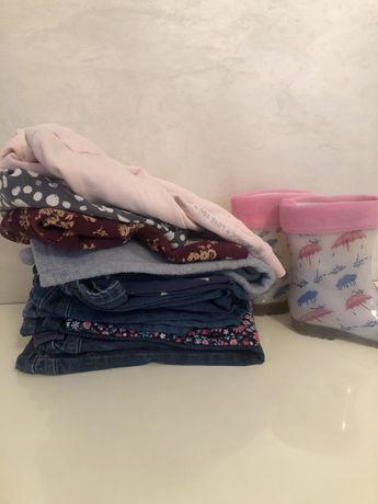 Пакет детской одежды на девочку 2-3 лет