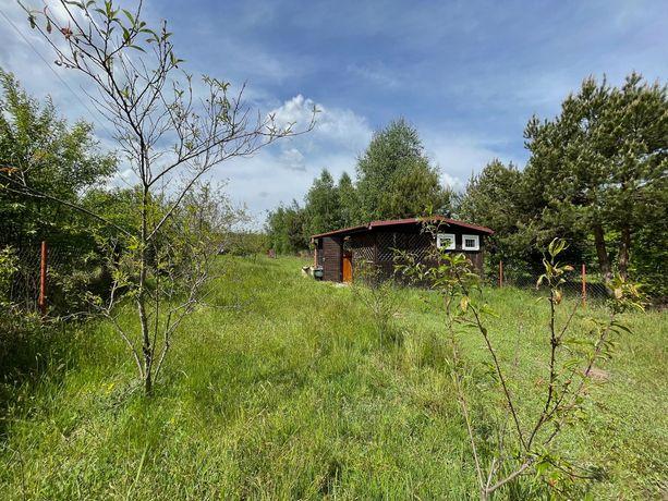 Działka rekreacyjna z domkiem i ogrodem, Nowiny pod Kozienicami