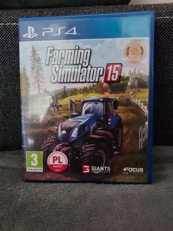 Farming simulator 15 PS4 PL stan jak nowy
