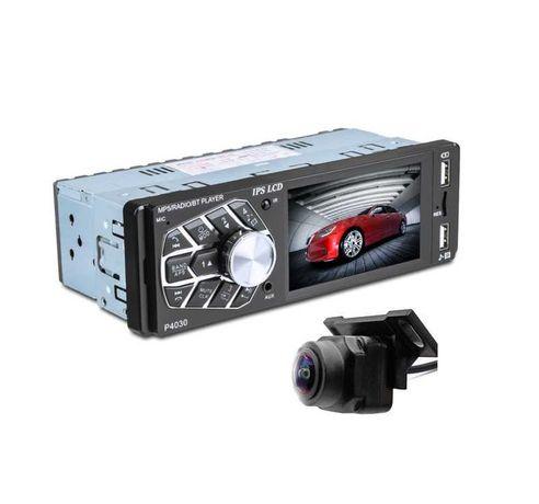 """Dotykowe RADIO SAMOCHODOWE z kamerą cofania 1-DIN LCD 3,8"""""""