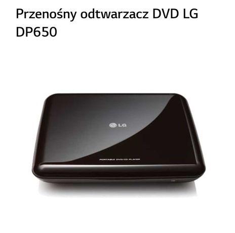 Przenośny odtwarzacz dvd/cd player LG