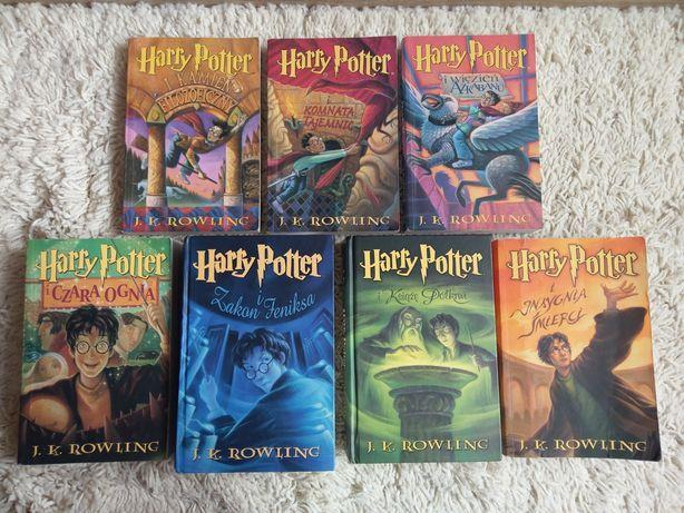 Harry Potter komplet 1-7 całość wszystkie części tomy zestaw