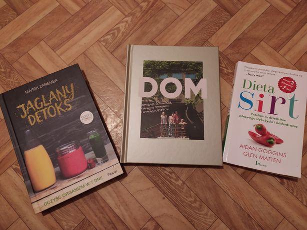 Książki, poradniki, dieta, zdrowy styl życia, przepisy