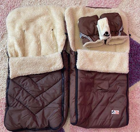 Зимовий чехол муфти рукавички