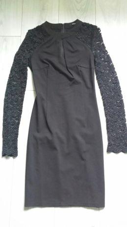 Karnawałowa mała czarna sukienka Orsay rozmiar 34 XS