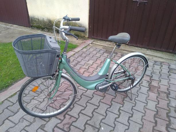 Sprzedam rower honda retro elektryczny