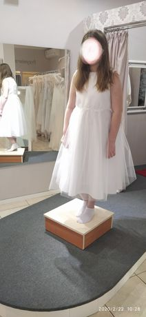 Sukienka na komunię 158cm szyta