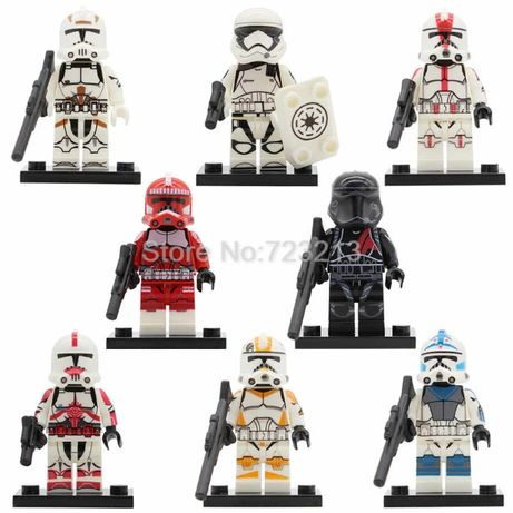 Lego star wars 8 frigurek.