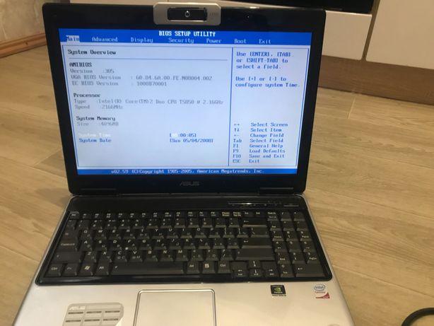 Ноутбук Asus M51S 2 ядра 4 гб оперативки