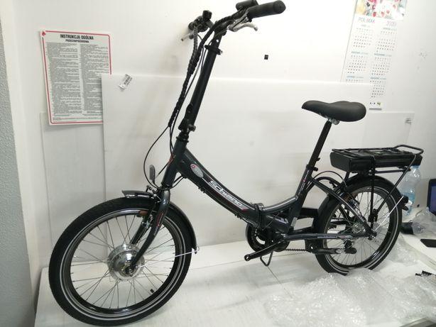 Rower elektryczny REVOE I-Bike nilox. FAT bike składak