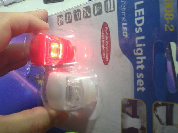 Фонарик стопы освещение для велосипеда ошейника и другое новые