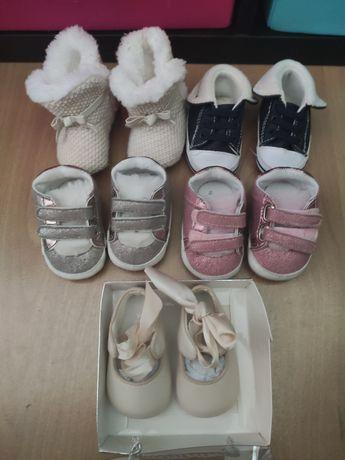 Calçado bebé menina tamanho 15
