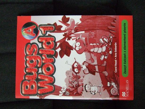 """Ćwiczenia do j.angielskiego """"Bugs World 1A"""" Macmillan"""