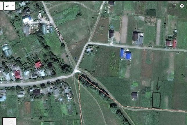 Участок в с. Тарасівка, Броварський р-н (15 соток), 45 км до м. Лісова