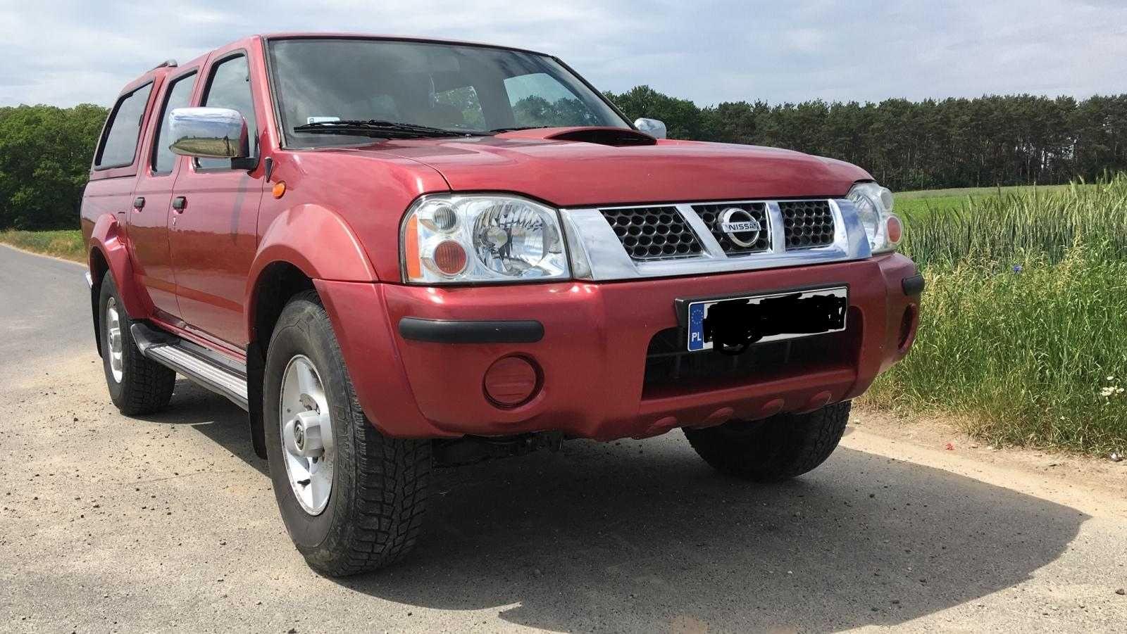 Nissan navara d22 2002r lift Klima skóra 2,7 terrano