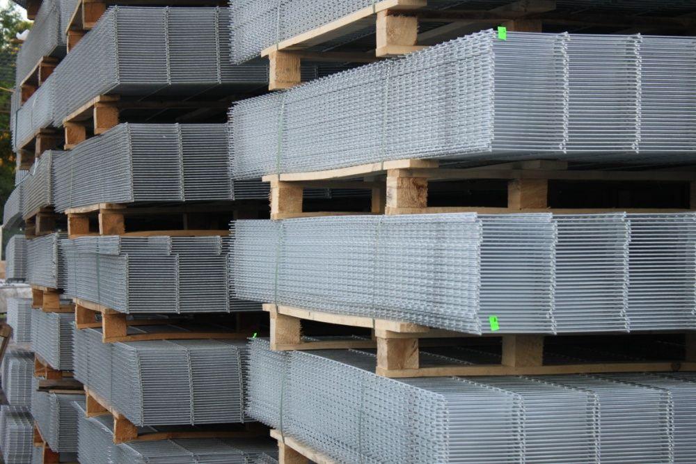 Ogrodzenie panelowe h123 fi 4 +podmurówka komplet IWONICZ ZDRÓJ Iwonicz-Zdrój - image 1