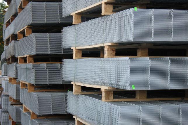 Ogrodzenie panelowe h123 fi 4 +podmurówka komplet IWONICZ ZDRÓJ