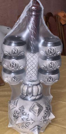 Булава і чарки декоративний набір для алкоголю