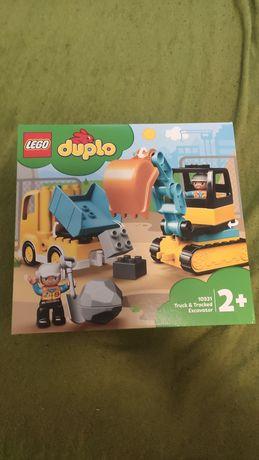 Lego Duplo NOWA Ciężarówka i koparka gąsienicowa 10931