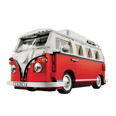 Set Lego carro / Pao de forma - VW Camper Van 1962