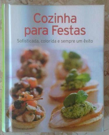 """Livro de culinária """"Cozinha para Festas"""""""