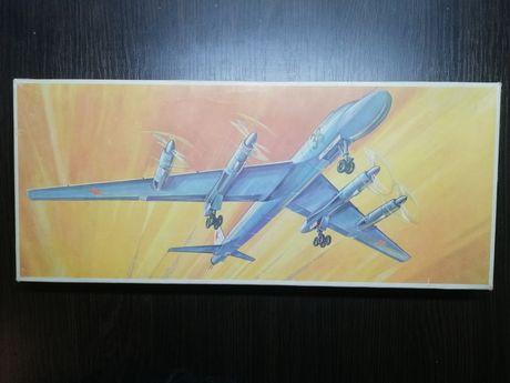 ТУ-20 сборная модель самолёта Plasticart Пластикарт ГДР