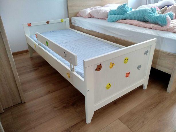 łóżko dziecięce 70 * 160 cm z materacem, IKEA, кровать детская