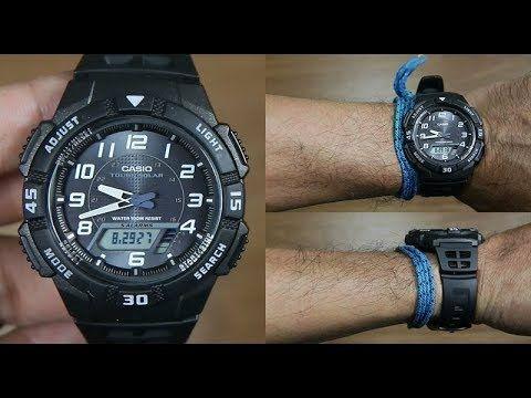 Zegarek CASIO aq s800w SOLAR