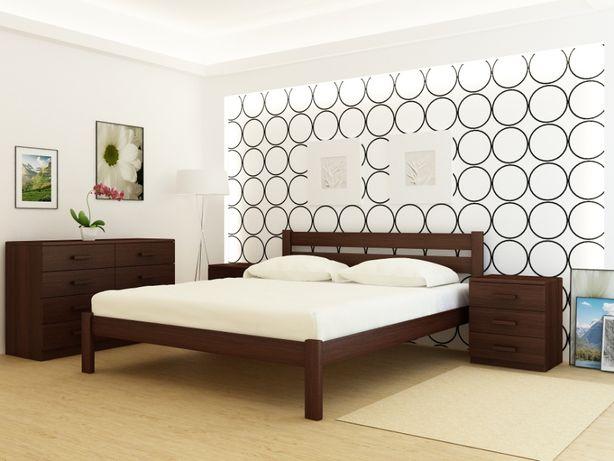 Кровать Frankfurt Каштан из Цельной Доски Ольхи или Ясеня.