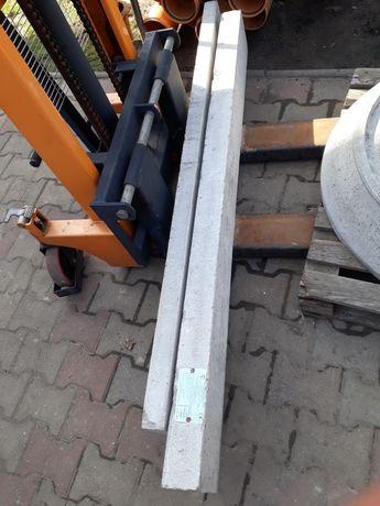 Nadproża betonowe typu L 180cm