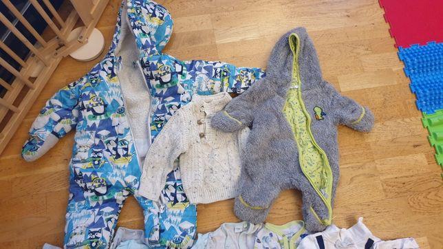 Paka ubrań,ubrania chłopiec 62