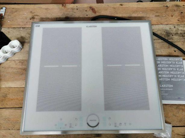 Indukcyjna płyta kuchenna Klarstein ,4 strefy,7000W, timer, biała.Nowa