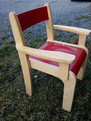 Krzesełka drewniane dla dzieci