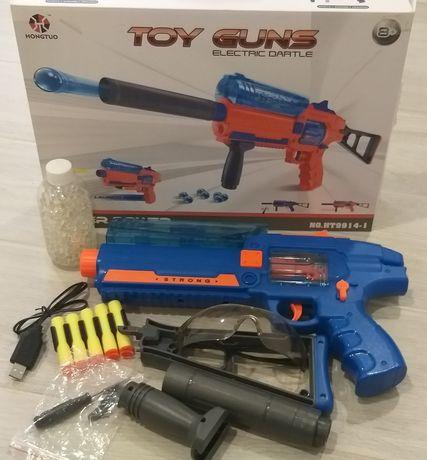 Продам детский пистолет на акумуляторе.