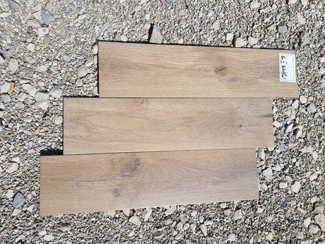 Płytki gresowe 15,5x62 imitacja deski podłogowe ścienne OKAZJA