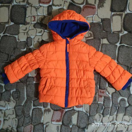 Куртка для хлопчика 6-9міс.