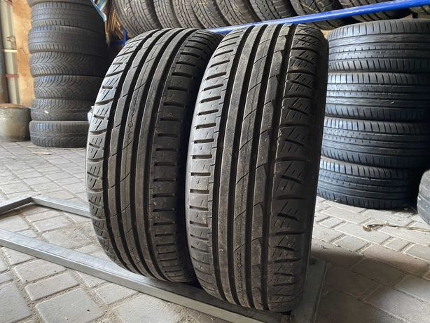 лето RunFlat 205/55/R15 7.8мм Nokian 2шт Летняя резина шины шини