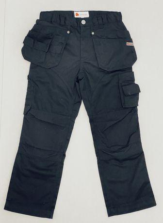 Spodnie techniczne  L.Brador; mocne; nowe; rozm 140