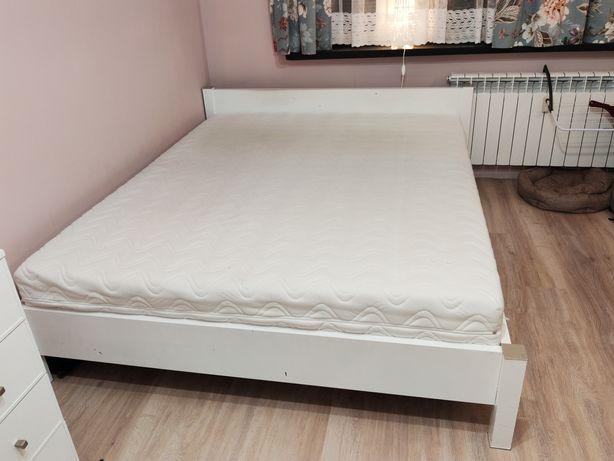 Łóżko małżeńskie z materacem OPTIMUM 160x200cm