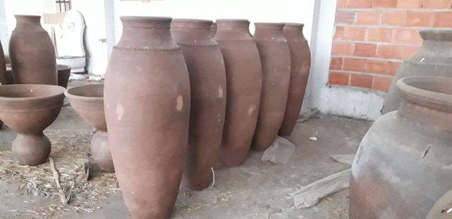 Anforas do vinho antigas para decoração Muito rústicas. 130 cm altura