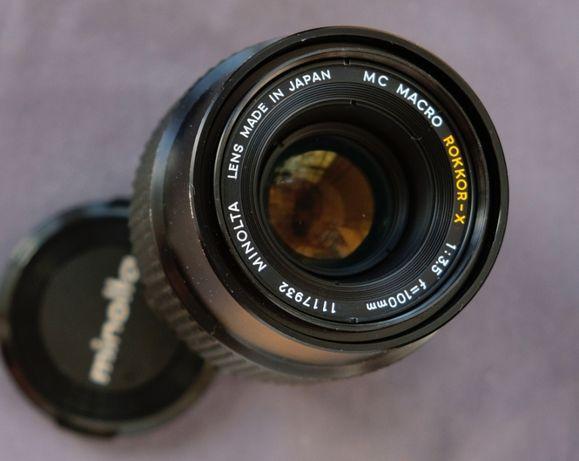 Minolta MС Macro Rokkor-X 100 mm f/ 3.5 ,Fujifilm