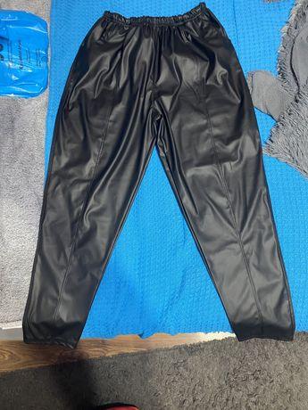 Spodnie skorzane xxl