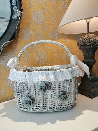Autênticas e únicas cestas de verga decorativas