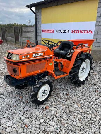 Kubota Bultra B17 Japoński Mini Traktorek MINI TRAKTORKI MAŁOLEPSZY